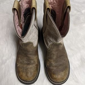 Ariat fatbaby cowboy boots size 8